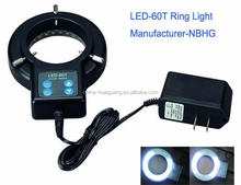 LED-72T 72pcs LED ring light for microscope use as microscope illuminator which is very popular