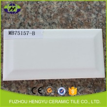 75x150mm super white ceramic kitchen wall tile