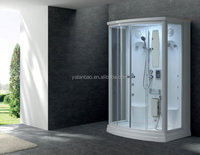 Home Made Steam Room Inflatable Spa Smart Shower Mirror Indoor Glass Waterfalls Steam Shower Room with sauna