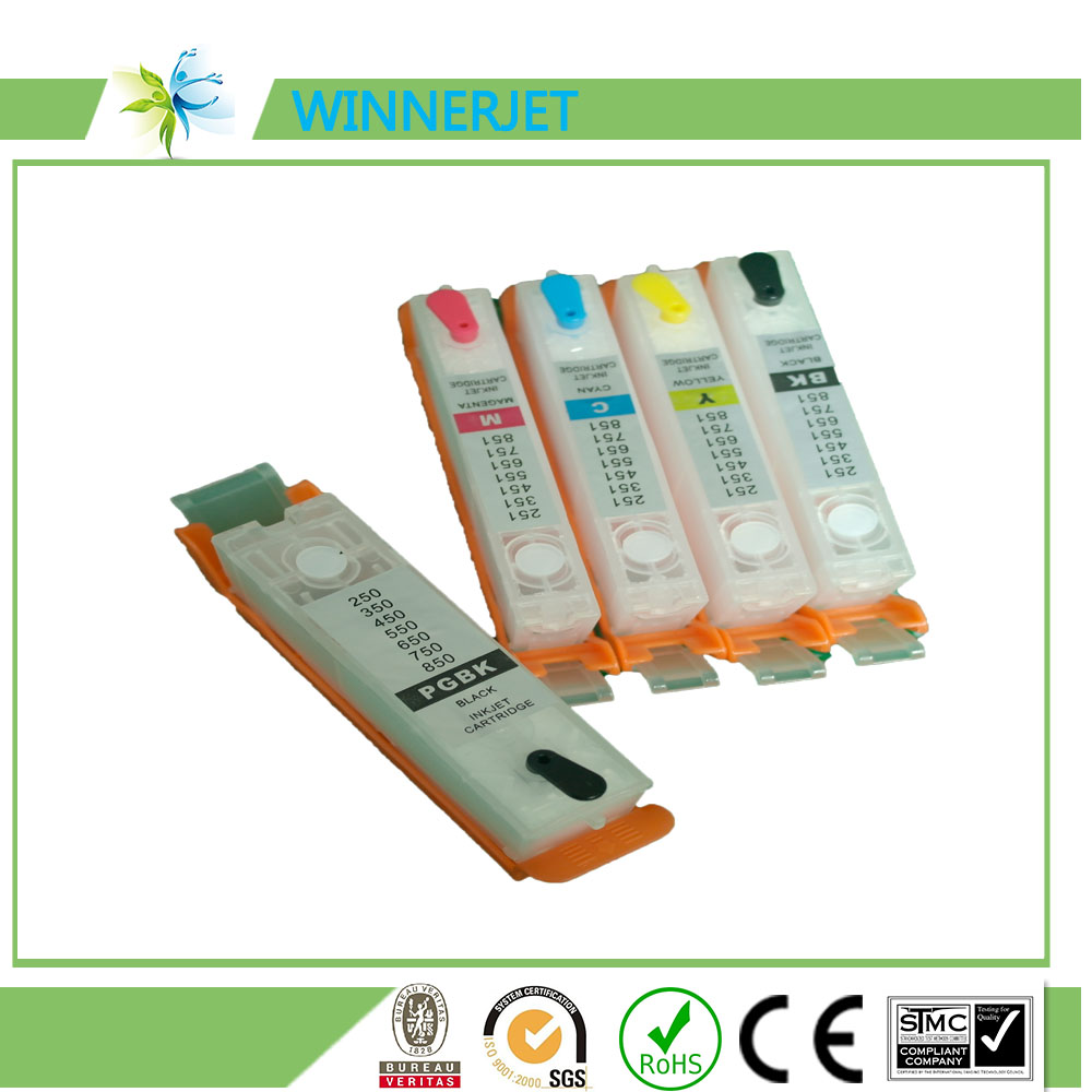 best price 450/451 ink cartridge for canon Pixma ip7240/MG5440 printer