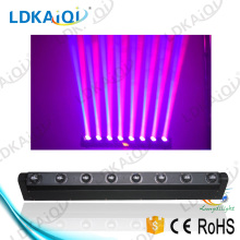 guangzhou moving head 8*10W ktv/dj/dj/bar/disco/wedding decoration lighting