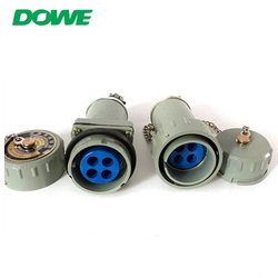 Hot sell aluminum body 3 phase 4 wire plug and socket 200amp plug