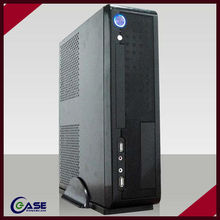 manufacture the newest hot deluxe thin itx pc case