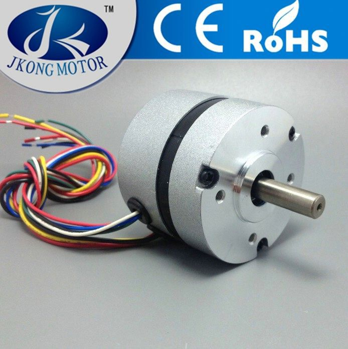 57BL series 100 watt dc brushless gear motor, rated 24v 36v