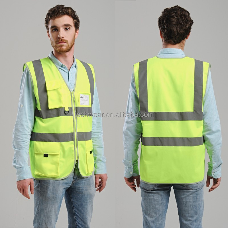 High Quality Running Reflective Fashion Reflex Vest