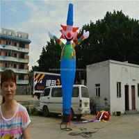 Inflatable air dancer clown air dancer with blower