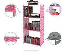 4 Layers non woven kids bookcase