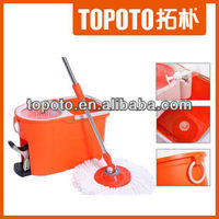 2013 most popular microfiber 360 twister easy floor cleaning magic spin mop