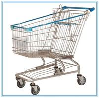 iron material type shopping go carts