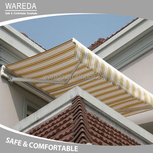 Motorized waterproof balcony retractable awnings