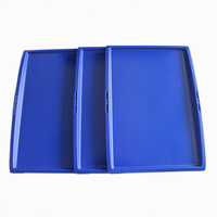 Airline Reusable ABS Plastic Anti Slip Tray