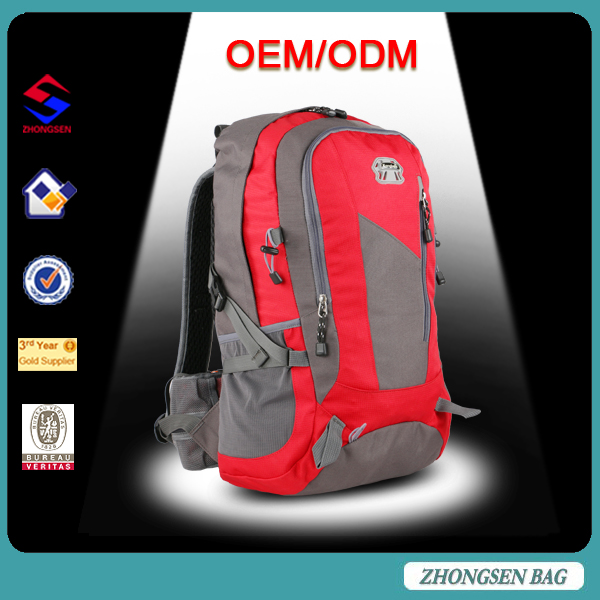 Multifunctional school backpack on wheel with high quality