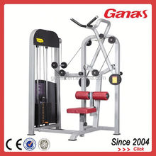 V-Bar pulldown machine plate loaded strength equipment