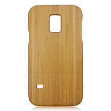 Real wood back phone case for samsung galaxy s5 mini wooden phone shell