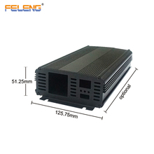 custom electronic aluminum extrusion project inverter enclosure ip67 case for pcb