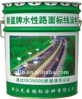 Water based road marking paint