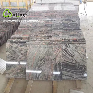 Factory High Quality China Multi Red Polished Exterior Granite Tile for Wall