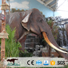 OA6684 Customized High Quality Life Szie Handmade Artificial Elephant