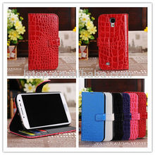 Newest pu leather for samsung s4 phone cases, factory price for samsung galaxy s4 i9500 phone case wallet flip cover