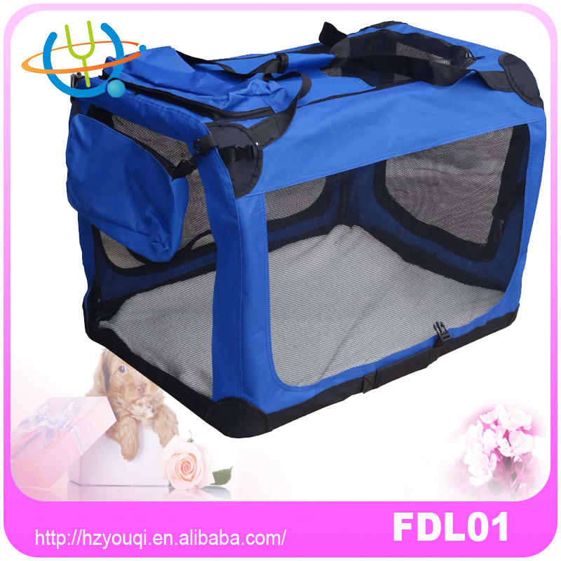 For Amazon Soft pet carrier/Pet Dog Cat Carrier Airline Approved/foldable soft pet carrier crate