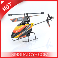 Top sale! V911 wl 2.4GHz 4 Channels rc helicopter with single blade