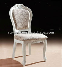 The new 2013 white lacquer dinning chair Solid wooden frame dinning chair fancy dinning chair RQ-C37