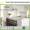Affordable modern solid wood kitchen cabinet made in China
