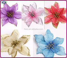 2014 painted glitter high-grade Christmas flower artificial Christmas tree decorations flower