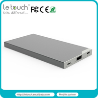 manufacturer mobile accessories portable travel 5000mah external backup type c mobile power for macbook