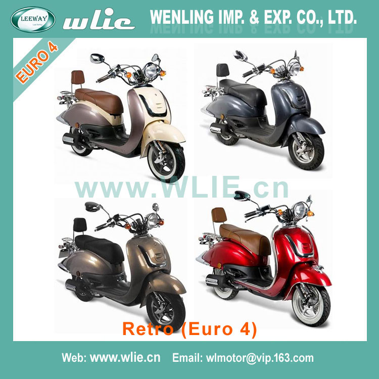 2018 New 125cc 150cc gas scooter engine motorcycle 200cc cbf motos china Retro 50cc/125cc (Euro 4)