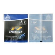 Small Back Sealed Plastic Motorcycle Spare Parts Packaging Bag