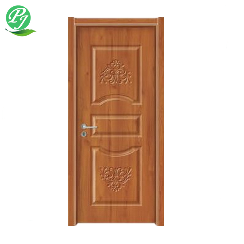 wholesale rolling moulded melamine paper veneer hdf door skin