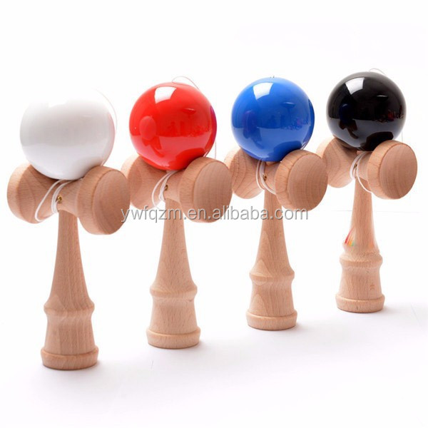 china wholesale wooden japanese traditional kendama wooden toys