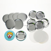 High Quality Factory Wholesale Custom Tin Button Badge Metal Pin Button