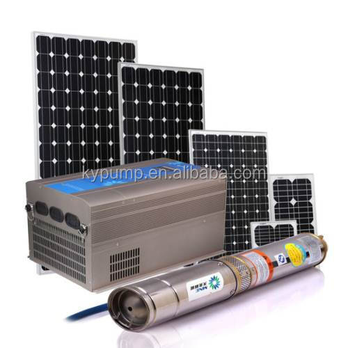 Good quality electric submersible solar water pump for agriculture