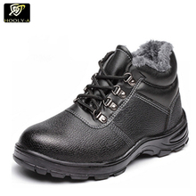 Wholesale winter high heel steel toe safety shoes or industrial safety boots