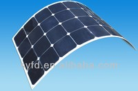 100W 18V semi lexible solar panels for boats 12V battery charging