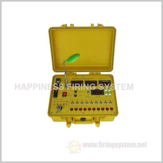 wire control sequential fireworks firing system, 90 channels fireworks ignition system, good quality(DE90-A)