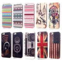 New 4.7 Inch for iphone 6 Case Ultra-thin Flag/stereo cabinet shape phone Cases Cover non-mainstream PC Cartoon Case