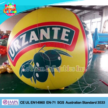 Inflatable floating advertising balloon,inflatable helium balloon