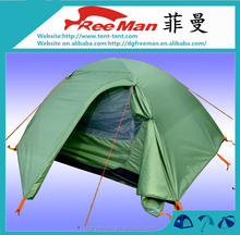 Outdoor 2 Person canvas Camping mountain hiking tent