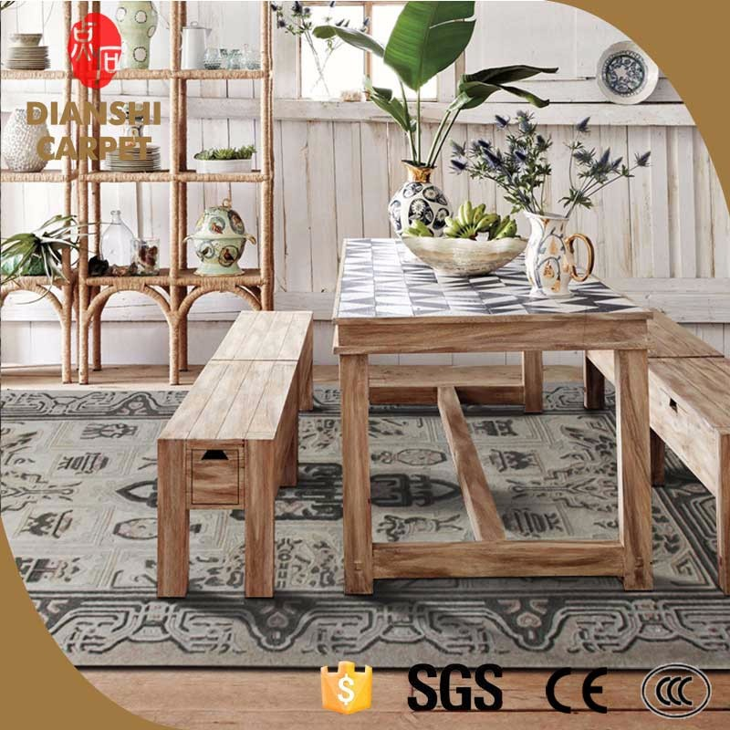 Hot Sale Modern Concise Hand Weaving Sheep Wool Carpet Of Famous Brand Design