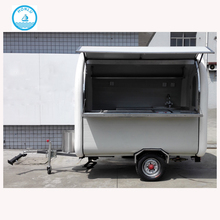 Hot sale vintage food truck food trailer for sale size of food cart