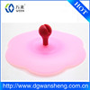 cute design Eco-friendly portable beautiful silicone cup cover/China Supplier Custom Logo Soft Rubber Cute Cup Cover