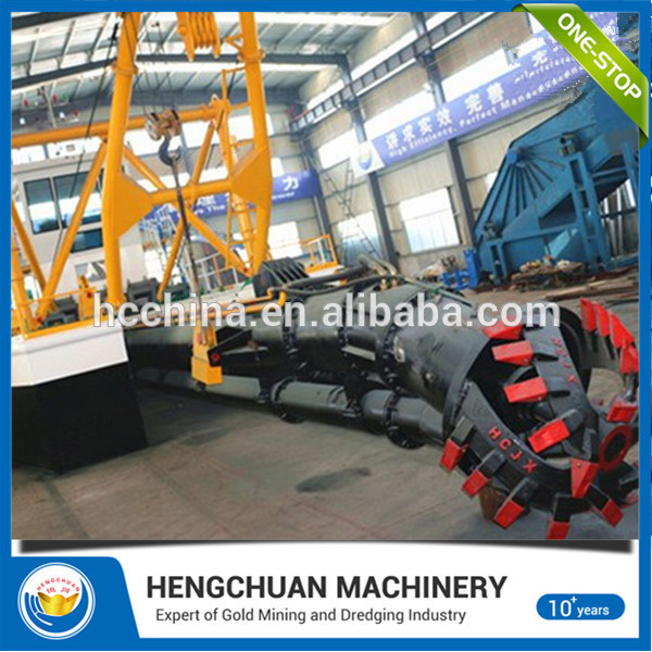 Best price of 8''-24''cutter suction dredger price with good price