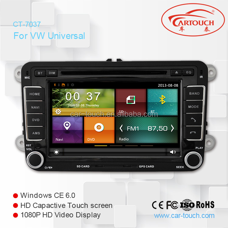 For VW Golf 5/Golf 6 car dvd with multimedia player car gps bose sound system big screen HD resolution in maps