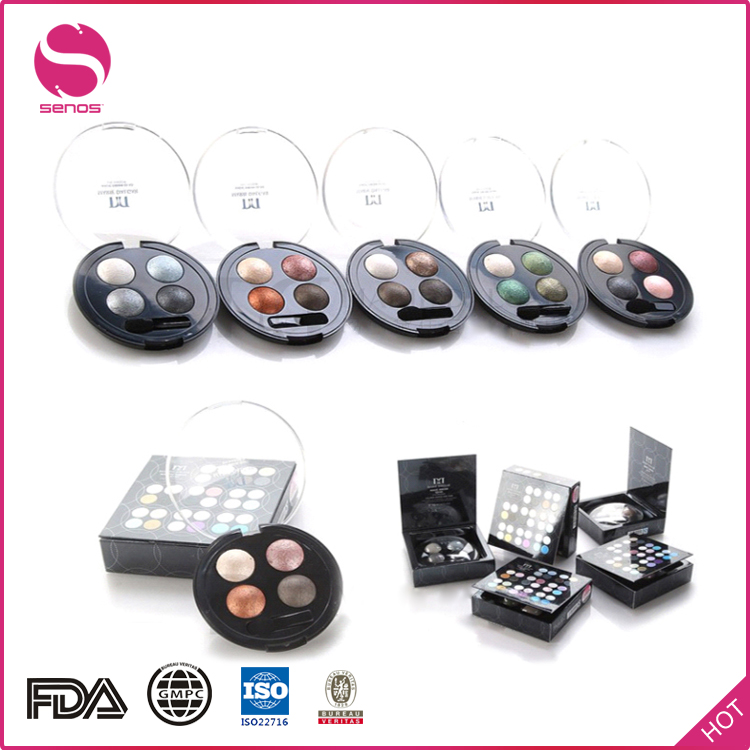 Senos Customized Professional Multi Color Make Up Eyeshadow Powder Palette Eye Shadow