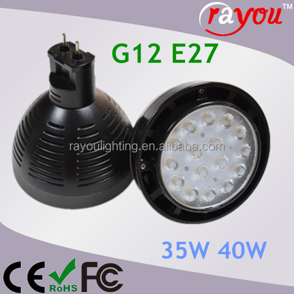 2900lm 35w led par30 light,Metal halide CDM-TC 70w led replace, G12 led par30 for interior