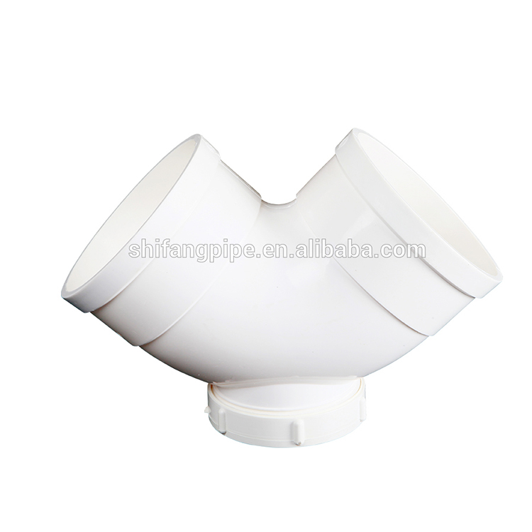 pvc pipes and fittings 90 degree pvc elbow with checking hole