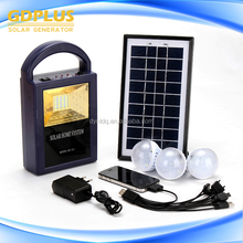 5w solar home kit High quality indoor solar light kit with lamps and solar panel factory price